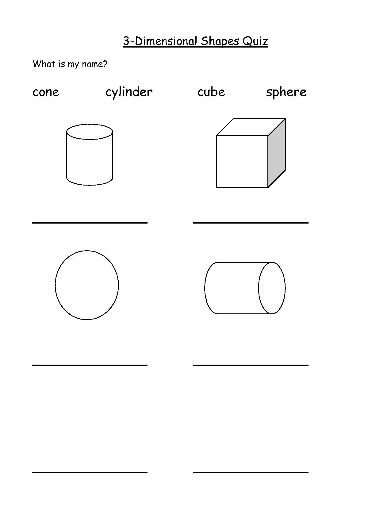 Pin Three Dimensional Shapes on Pinterest